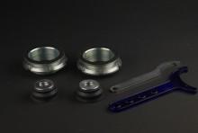 スペーサー付リフトアップキット + 調整式ラテラルロッド セット スズキ ハスラー MR31S/MR41S [MR31SET-A01-90001]