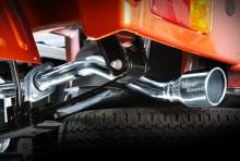 LS-304 (レベルサウンド304) 軽トラック専用車検対応マフラー スバル サンバートラック(グランドキャブ) S500J/S510J [HKMD001-02]