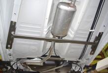 モノコックバー センターA スチール製リジット スズキ アルト HA36S/HA36V ※2WD車専用 [MN-SZ0750MOM14-1]