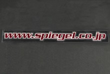 【メール便対応】Spiegel URLステッカー (レッド) [SP-URLST-AK-90001]