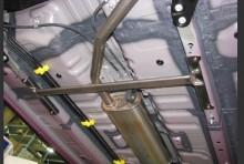 モノコックバー センター スバル ステラ LA150F スチール製リジット T-2W [MN-DA0390MOM00-90004]