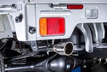 【予約】【次回入荷予定11月上旬】LS-304 (レベルサウンド304) 軽トラック専用車検対応マフラー ニッサン NT100クリッパー DR16T [HKMS001-03]