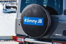 【予約】【次回入荷予定5月末】スペアタイヤカバー ボックスロゴ ブルー スズキ ジムニー JB23W/JB64W [KJSTC01BL-01]