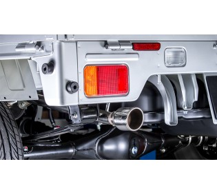 LS-304 (レベルサウンド304) 軽トラック専用車検対応マフラー ニッサン NT100クリッパー DR16T [HKMS001-03]