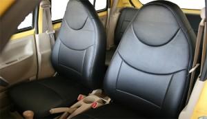 Spiegel (シュピーゲル) シートカバー ダイハツ エッセ L235S/L245S (エコモデル) 運転席・助手席