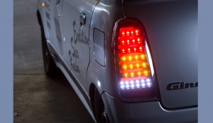 Spiegel (シュピーゲル) LEDテールランプ クローム/スモーク ダイハツ ミラジーノ(ミラ) L700S/L710S カテゴリ用