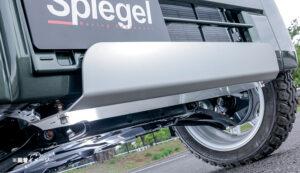Spiegel (シュピーゲル)アルミアンダーガード スズキ エブリイ DA17V ※エブリイワゴン未確認 装着画像